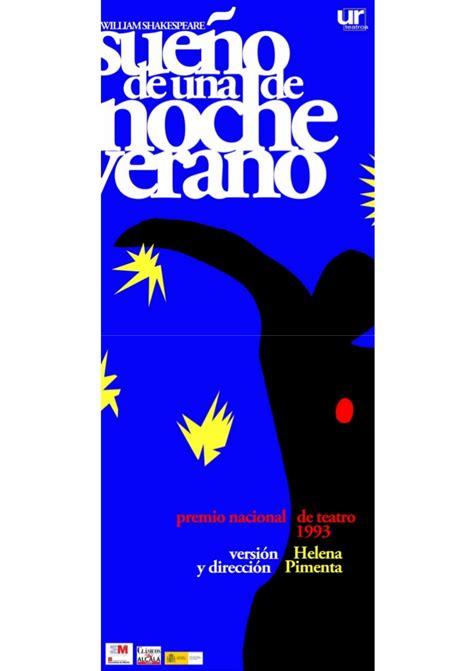 Modelo Curriculum Teatral Dossier Teatro El Sueno De Una Noche De Verano De W Shakespeare