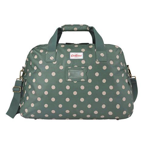 Cath Kidston Travel Bag cath kidston forrest green button spot travel bag
