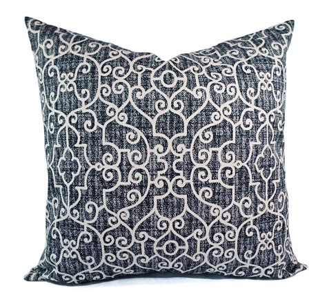 Outdoor Pillows Navy by Two Outdoor Pillows Navy White Pillow Cover Navy Blue