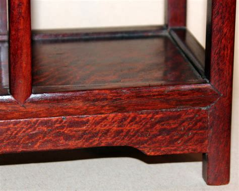 vintage rosewood table top display shelf at 1stdibs