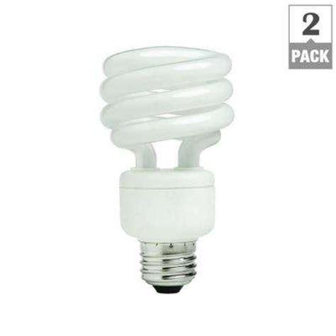 Lu Philips Spiral 24 Watt cfl light bulbs light bulbs lighting ceiling fans the home depot