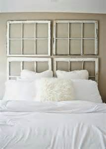 Ideas For Brass Headboards Design Diy Vintage Antique Window Headboard