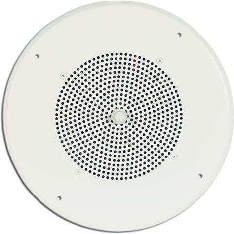 White Ceiling Speakers by Bogen Communications Ceiling Speaker Assembly