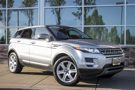 range rover certified pre owned certified pre owned 2013 land rover range rover evoque