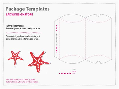 package template package templates flip flop box template 2d ladyj