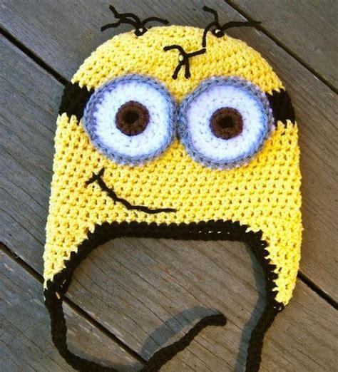 Pattern Crochet Minion Hat | despicable me minion crochet hat pattern alldaychic
