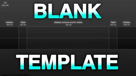 Best Blank Youtube Banner Template With Gridlines 2017 Youtube Banner Template 2018