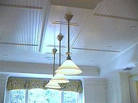 how to hang beadboard on ceiling beadboard ceiling is great this is one way to get rid of