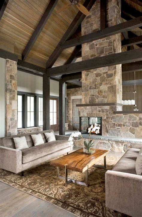 rustic contemporary 55 awe inspiring rustic living room design ideas