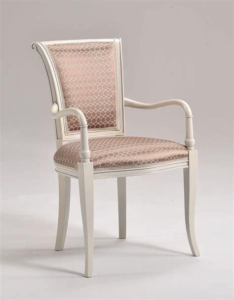 sedie braccioli sedia in stile con braccioli torniti schienale imbottito