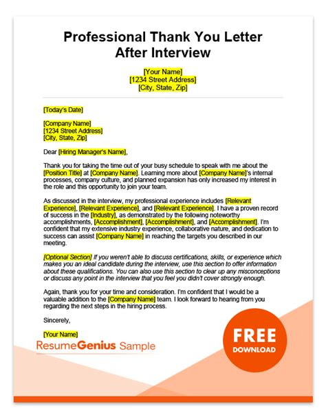 interview   letters samples  ms word templates