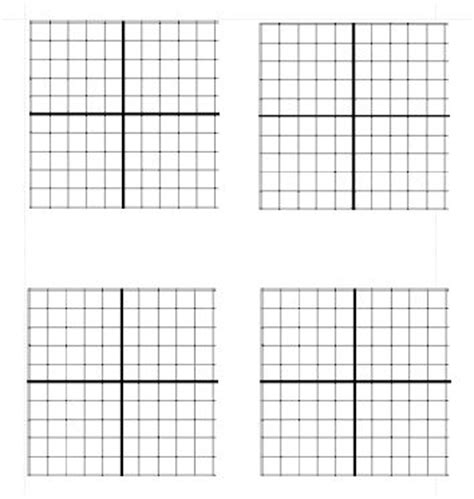 printable blank math graphs blank graph template google search math pinterest