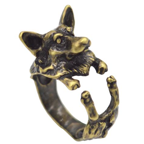 Handmade Rings For - aliexpress buy 10pcs handmade corgi rings for