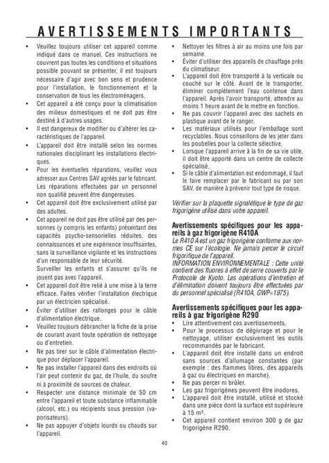 Climatiseur Delonghi 3295 notice delonghi pac we125 eco climatiseur trouver une