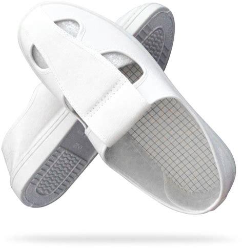 Sepatu Safety Putih Krisbow sepatu kerja kanvas putih putih esd sepatu safety cleaner anti selip tahan lama