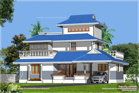 kerala model home design in 1329 sq kerala home