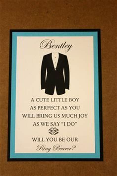 Ring Bearer Card Template by Free Pdf Will You Be My Bridesmaid Card