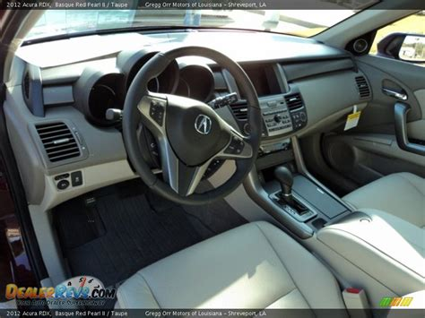 how cars engines work 2012 acura rdx interior lighting taupe interior 2012 acura rdx photo 16 dealerrevs com