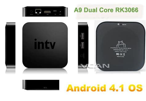 iptv android box vcan0577 dual android iptv box iptv receiver