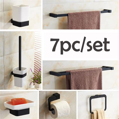 black bathroom sets cheap get cheap black bathroom accessories aliexpress