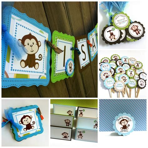 Monkey Birthday Decorations by Monkey Centerpieces Adore By Nat
