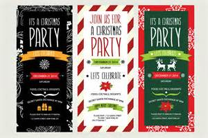 Christmas party invitation template xmas party invitation template