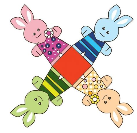 Easter Paper Crafts Free - easter paper craft templates find craft ideas