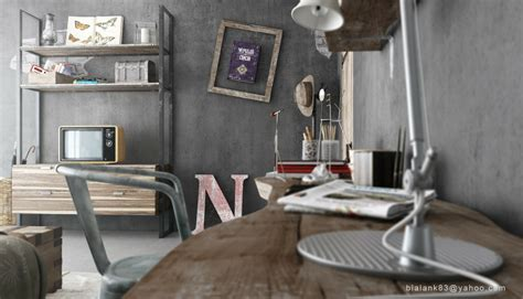 Home Decor Industrial Style by Industrial Bedrooms Interior Design Interior Decorating