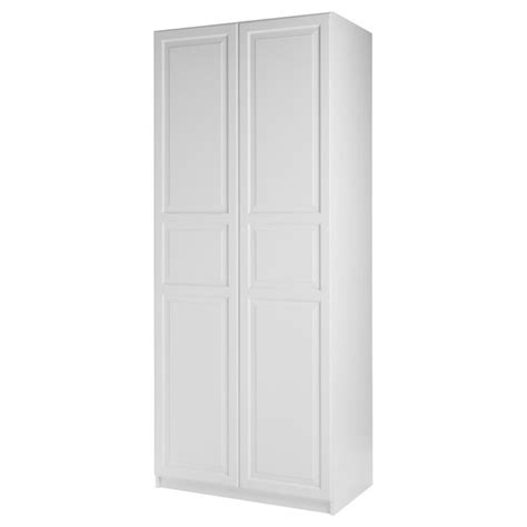 pax wardrobe with 2 doors birkeland white white 39 1