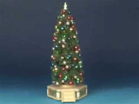 lemax christmas village the majestic christmas tree youtube
