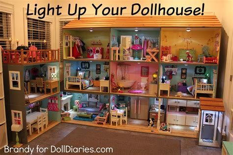 doll house lighting light up your dollhouse doll diaries