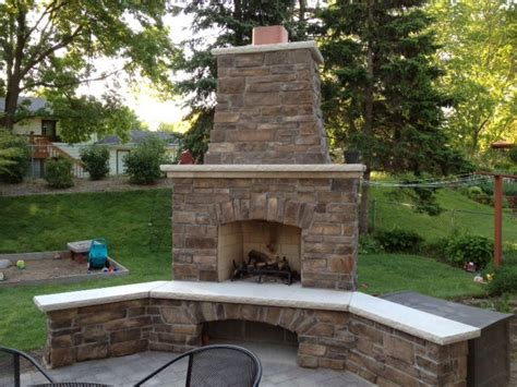 Fireplace Outside by Minneapolis Outdoor Fireplaces City Fireplace
