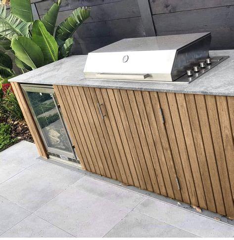 grill weber ideen design fuer aussenkueche outdoor