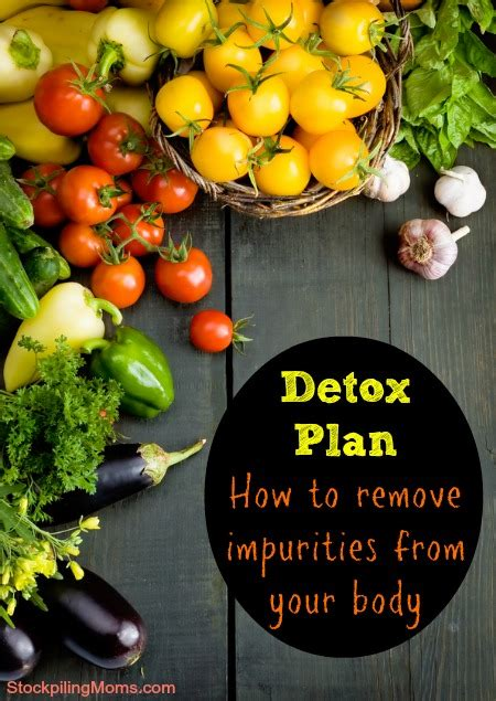 Detox Recipe For Impurities by Detox Plan