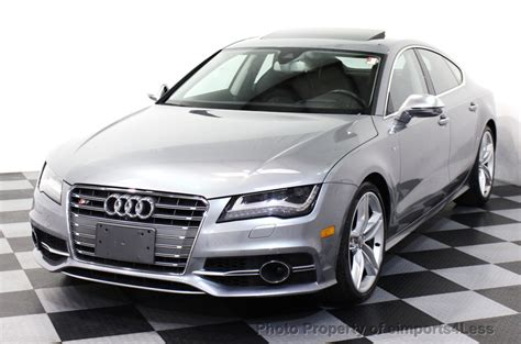 Audi S7 Used by 2013 Used Audi S7 Certified S7 Quattro Prestige Innovation