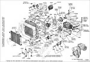 Ford Parts Diagram Ford Truck Part Numbers Air Conditioning Factory