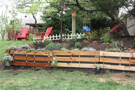 Wood Pallet Garden Ideas How To Shimmer Your Pallet Garden Pallet Furniture