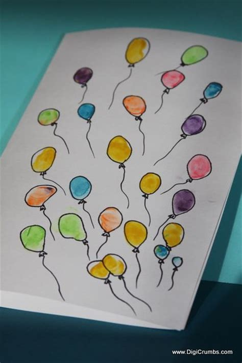 Thumb Print Cards Craft By Free Template by Best 25 Fingerprint Ideas On Toddler