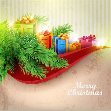 Wallpaper Natal Cantik | cantik natal latar belakang vektor natal vektor gratis