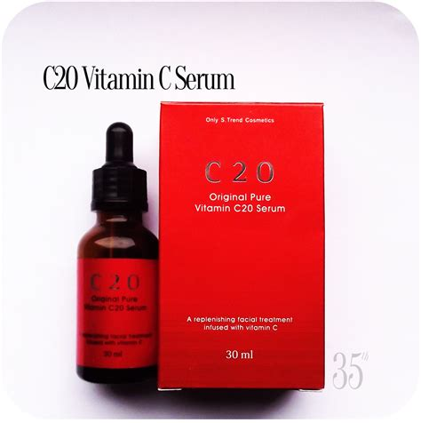Serum Vitamin C 20 ost original vitamin c20 serum review entering 35th