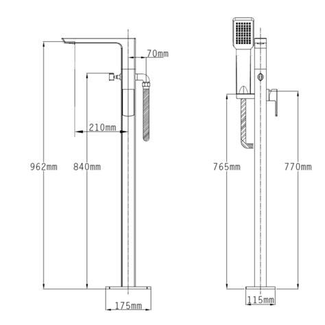 mono bath shower mixer 100 mono bath shower mixer roper factor