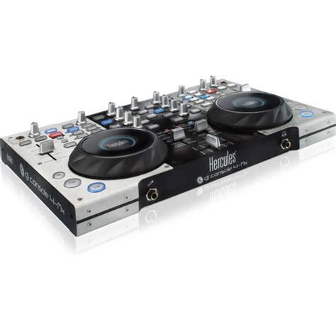 console dj usb hercules dj console 4 mx table de mixage hercules sur