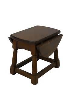 gateleg tisch beistelltisch gateleg tisch telefontisch eiche massiv 50er