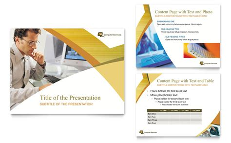 consulting presentation template computer services consulting powerpoint presentation