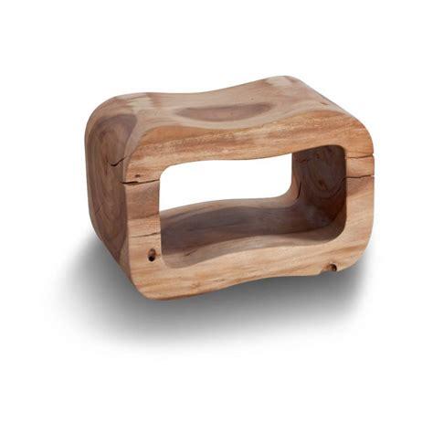 accessori bagno in legno cipi sgabello otto in legno di suar naturale trattato con