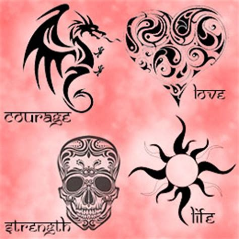 tribal tattoos meaning strength and love tribal tattoos meaning strength for