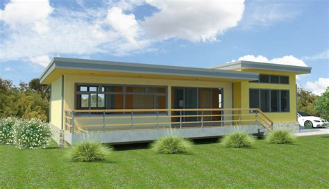 new simple yet modern pre designed house plan millenia