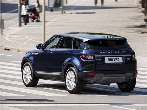 2016 range rover evoque caricoscom 2016 range rover evoque ed4 2wd in loire blue rear hd