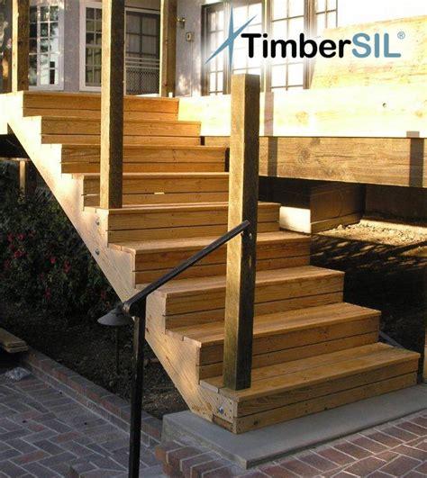 Composite Deck Building Composite Deck Stairs