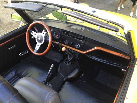 Triumph Spitfire Interior 1971 triumph spitfire interior pictures cargurus